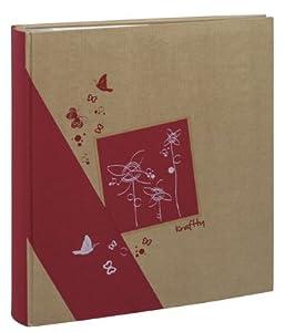 Erica - Album kraftty à pochettes pour 500 photos 11.5x15 - Rouge