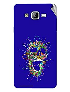 Miicreations Mobile Skin Sticker For Samsung Galaxy On7,Pattern