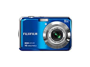 Fujifilm FinePix AX650 Digital Camera - Blue (16 MP, 5x Optical Zoom) 2.7 inch LCD