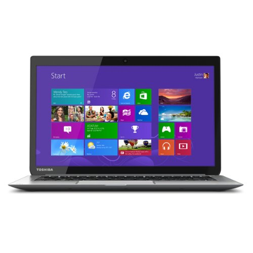 Toshiba KIRAbook 13i7s 13.3-Inch Touchscreen Ultrabook (1.8 GHz Intel Core i7-4500U Processor, 8GB DIMM, 256GB SSD, Windows 8.1) Silver
