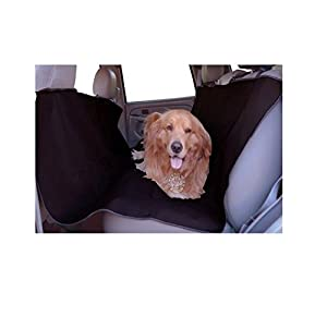 Majestic Pet Black Universal Waterproof Hammock Back Seat Cover for Pets