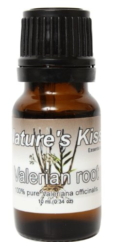 Nature's Kiss 10ml Essential Oil, 0.34-Ounce, Valerian Root