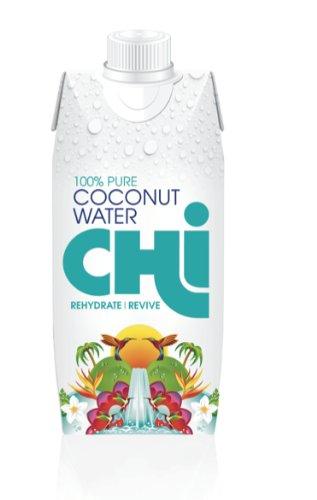 Chi 100% Pure Coconut Water (330ml x 12)