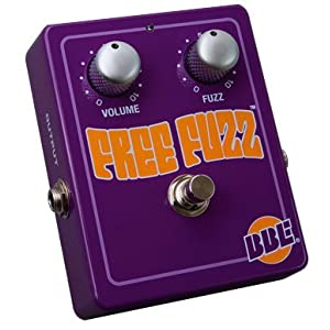 BBE Free Fuzz 70's Fuzz Face Guitar and Bass Pedal deal at Amazon
