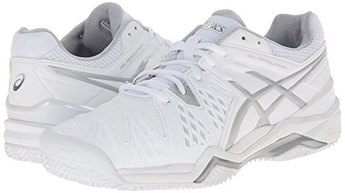 ASICS Women's Gel-Resolution 6 Clay Court Tennis Shoe
