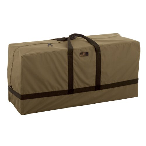 Classic Accessories 55-211-012401-EC Hickory Heavy Duty Patio Seat Cushion/Cover Storage Bag