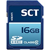 Professional SCT SD SDHC 16GB (16 Gigabyte) Memory Card for Olympus Stylus 9010 7040 7030 5010 Tough 3000 6020 SP-600 SP-800 UZ FE-5040 FE-5050 FE-5035 FE-4040 FE-4030 FE-47 E-5 PEN E-P2 E-PL1 with custom formatting