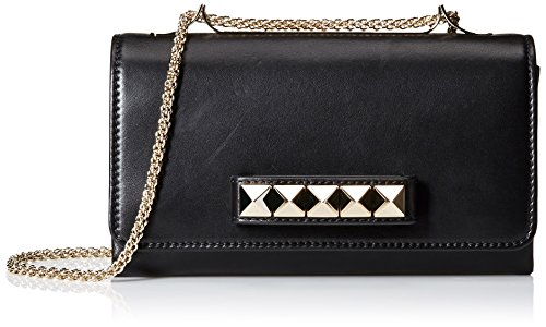 Valentino-Womens-Studded-Shoulder-Bag-Nero