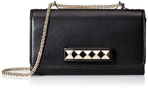 Valentino-Womens-Studded-Shoulder-Bag-Nero