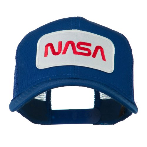 nasa-logo-embroidered-patched-mesh-back-cap-royal-osfm