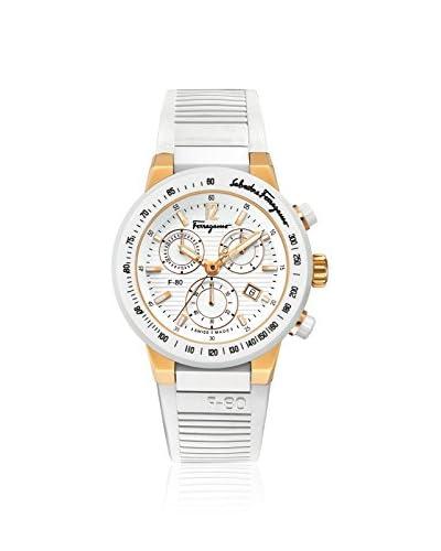 Salvatore Ferragamo Men's F55LCQ75101 S121 White Rubber Watch