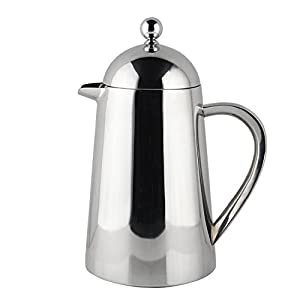 Francois et Mimi Stainless Steel Double Wall French Coffee Press,34 oz