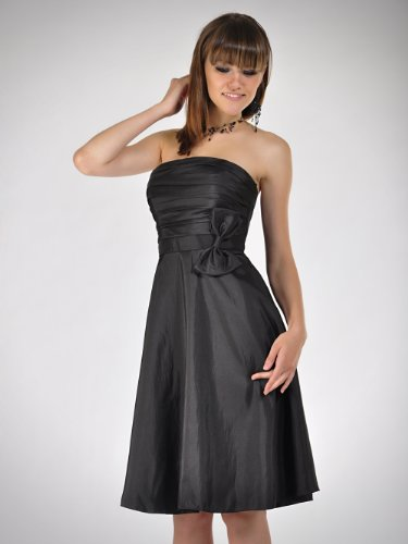 CityGirl – 3435 Cocktailkleid Ballkleid in Schwarz Gr. 34
