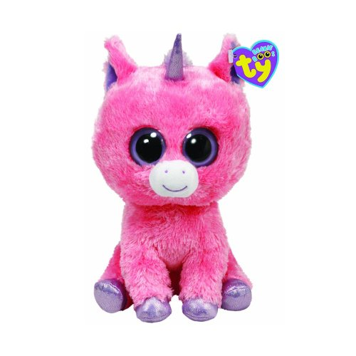 Ty Beanie Boos Magic Plush - Pink Unicorn