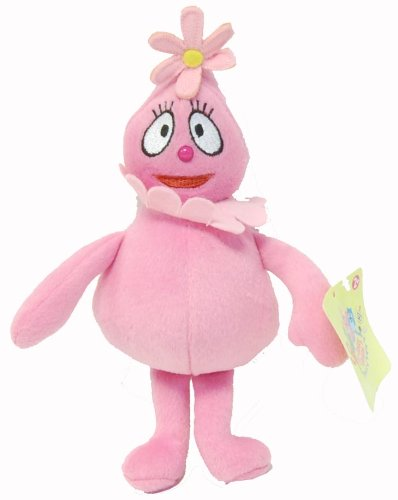 """Yo Gabba Gabba 9"""" Plush Doll Foofa - 1"""