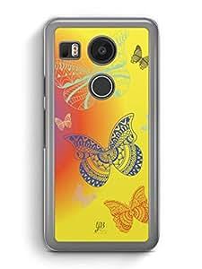 YuBingo Butterflies Designer Mobile Case Back Cover for Google Nexus 5X