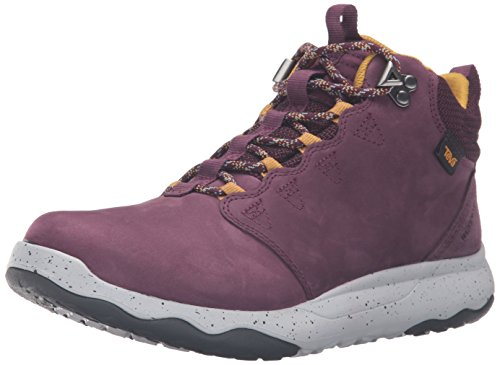 Teva Arrow Ood Lux Mid WP - & scarpe da trekking da trekking da donna, Viola (Lila (grape wine)), 38.5