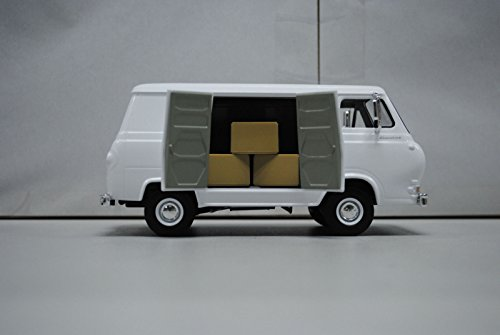 1963 1960's Ford Econoline Working Van White with Boxes 1/25 by First Gear 40-0387 (Diecast First Gear compare prices)