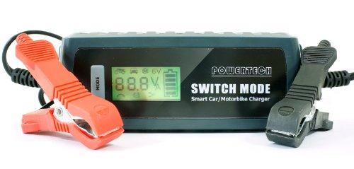 12V Digital Battery Charger Fast Charging System 6V / 12V Waterproof