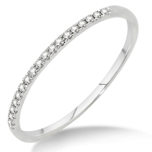Eternity Ring, 9ct White Gold, Diamond Eternity