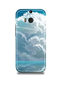 Clouds HTC M8 Case