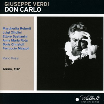 Don Carlo( Rossi) - Verdi - CD