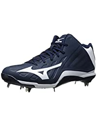 Mizuno Men's Heist IQ Mid Baseball Cleat