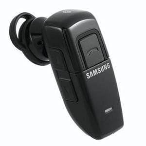 Samsung WEP200 Bluetooth Wireless Phones Headset - Retail Packaging - Black