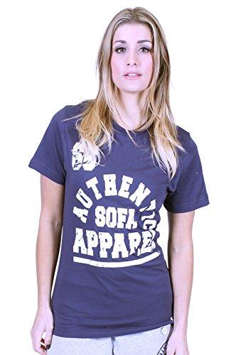 Università di qualsiasi donna Premium T shirt divano Divisione Navy Medium