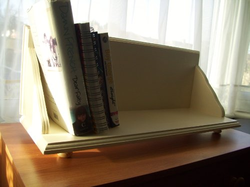 Country Cream Bookcase, Bookshelf, Shelf, dvd storage, Shelves, Cook Book Shelf.