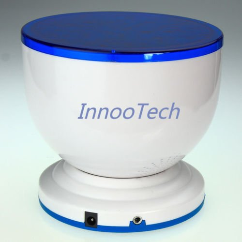 New Led Light Mini-Wave Romantic Projector Lamp Night Light