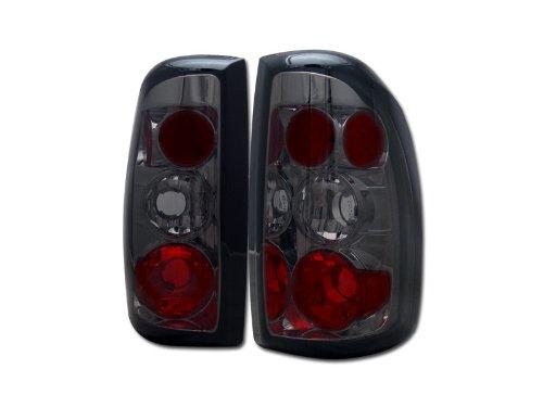 SMOKE ALTEZZA TAIL LIGHTS REAR BRAKE LAMPS 1997-2004 DODGE DAKOTA TRUCK CAB JY (Cab Lights Dodge Dakota compare prices)