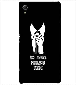 PrintDhaba Quote D-1106 Back Case Cover for SONY XPERIA Z4 (Multi-Coloured)