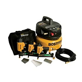 Bostitch CPACK300 3-Tool and Compressor Combo Kit