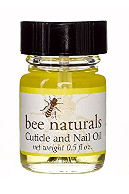 Bee Naturals Best Cuticle and Nail Oil - Heal Cracked Nails and Rigid Cuticles - Perfect Treatment for Healthy Hands - Moisturizes and Softens - Vitamin E Enriched For Health and Softness