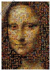 Cheap Buffalo Games Photomosaic Mona Lisa Jigsaw Puzzle (B000S0VL4Q)