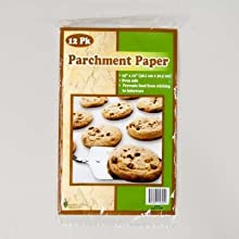 PARCHMENT PAPER 12PK SIZE 15X12 PRINTED POLYBAG