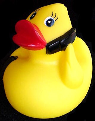 Rubber Duckie Cell Phone