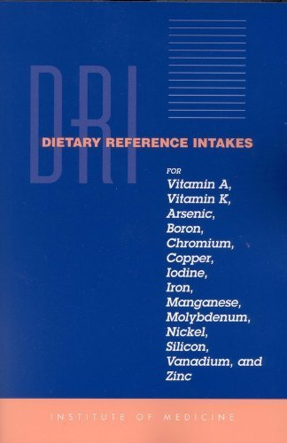 Dietary Reference Intakes For Vitamin A Vitamin K