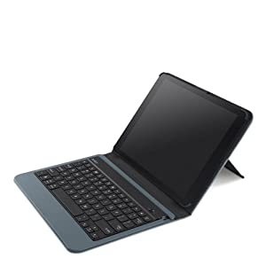 Belkin QODE Slim Style Keyboard Case for iPad Air - Slate (F5L152ttC01) from Belkin Components