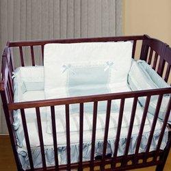 Imagen de Sweet Crib Bedding Cinta Porta Color: Azul
