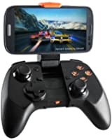 MOGA Pro Power Wireless Bluetooth Gaming Controller Pad with Built-In Holder and Included Tablet Stand Compatible with Android 2.3+ Smartphones and Tablets Including - Black
