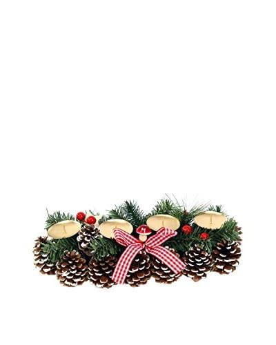 Portavelas Navidad