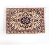 Alcoa Prime Turkish Style Carpet Miniature Embroidery Mat For 1/12 Dollhouse Decor Small
