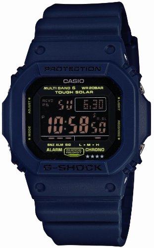 [カシオ]CASIO 腕時計 G-SHOCK ジー・ショック Navy Blue ネイビーブルーシリーズ 世界6局対応電波ソーラー デジタルウォッチ GW-M5610NV-2JF メンズ