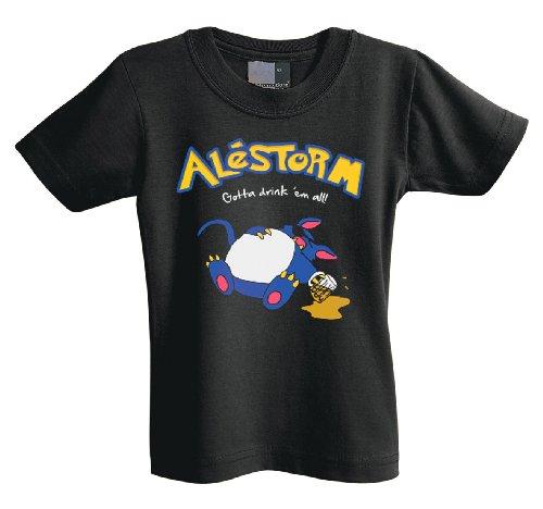 Gotta Alestorm drink Ž em i 701218 T-Shirt per neonato Nero  nero