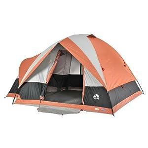 Igloo Blue Ridge II Family Dome Tent (5-Person), Orange Gray by Igloo