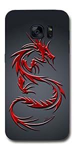 SEI HEI KI Designer Back Cover For Samsung Galaxy S7 - G930 - Multicolor