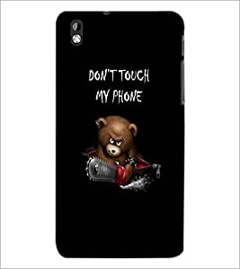 PrintDhaba Quote D-2390 Back Case Cover for HTC DESIRE 816 (Multi-Coloured)