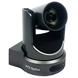 PTZOptics 12X-USB USB 3.0 PTZ 1080p Video Conference Camera with simultaneous HDMI and IP Streaming - Gray